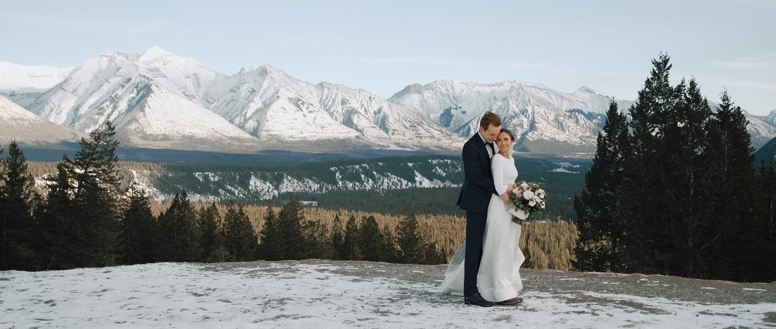 Alex + Natalie - Fairmont Banff Springs Winter Wedding