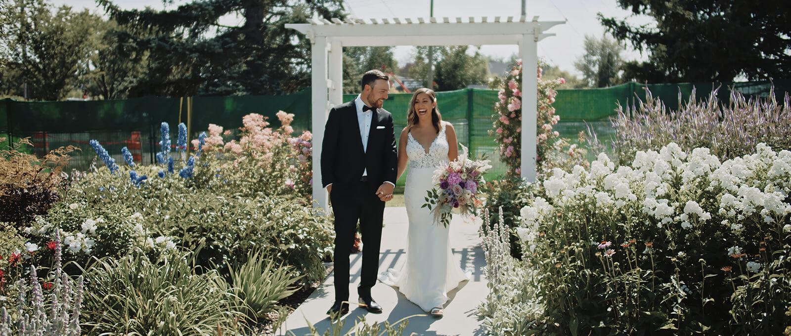 Samantha and Quinn's Calgary wedding film at the Deane House