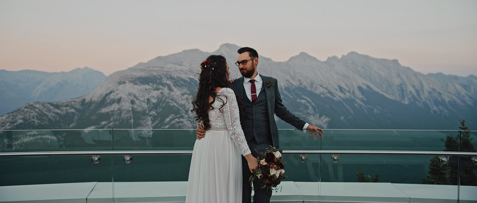 Sarah and Chris's Banff wedding film