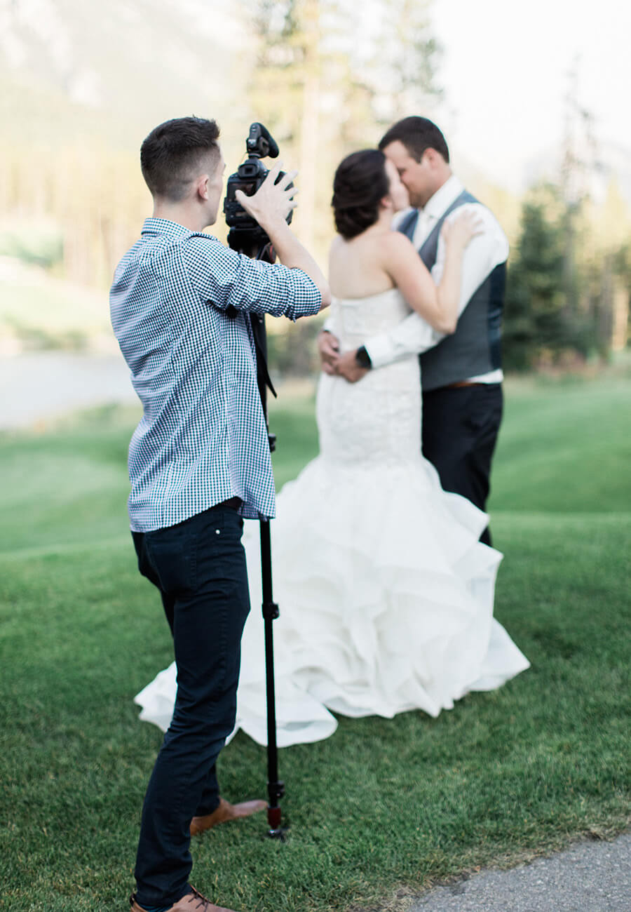 Calgary wedding videographer - Twisted Film Works