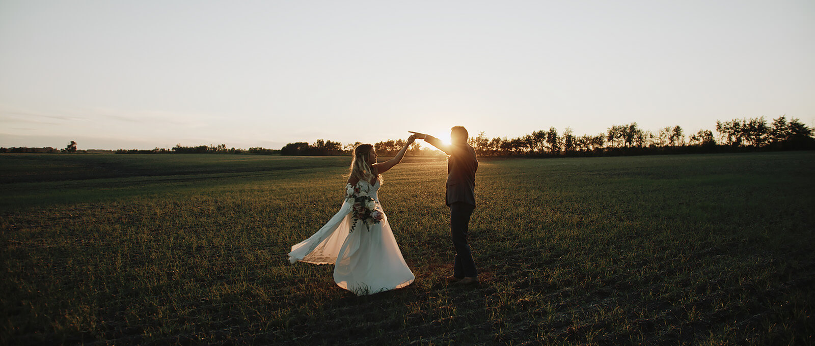 Chantelle & Dale Calgary wedding video