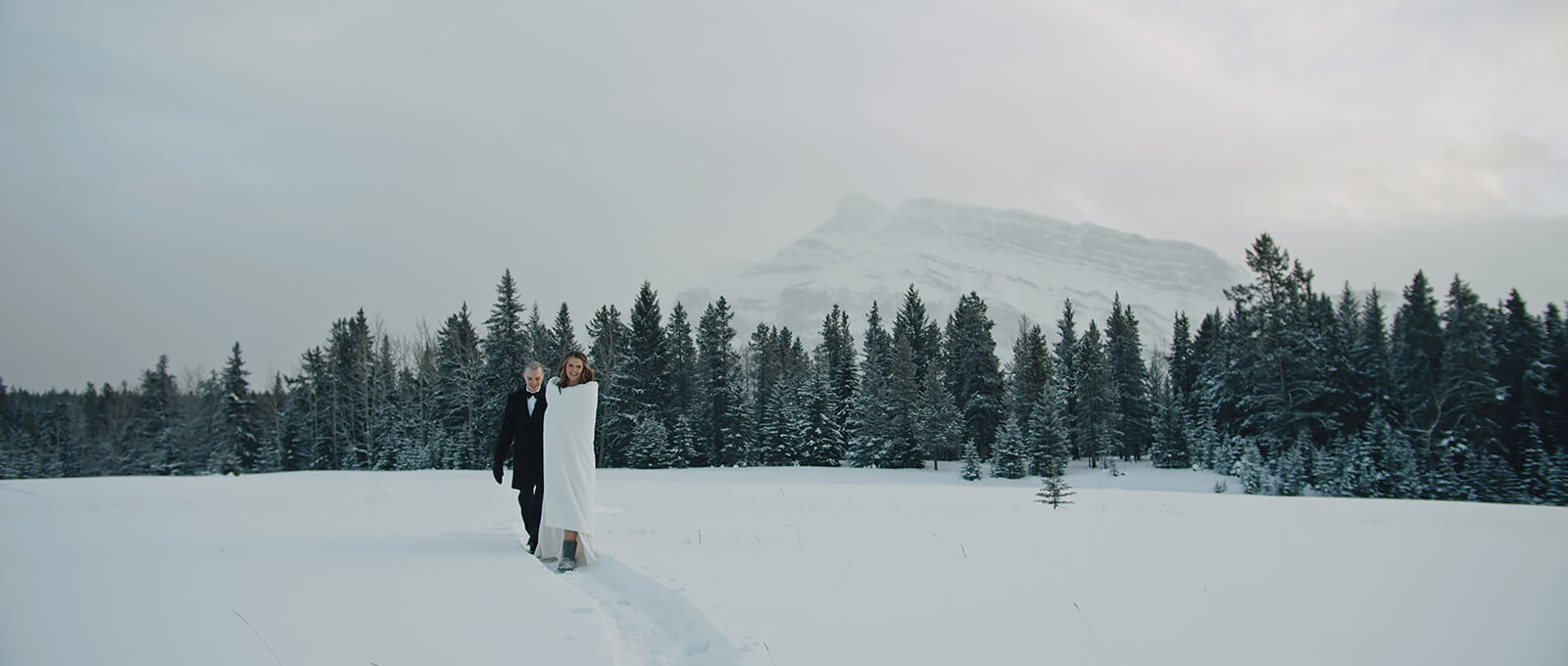 Elopement video in Banff and Lake Louise