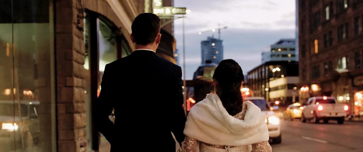 Teatro Calgary wedding film